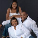 Pastor Derrick Malcom, Barbara, & Ebony