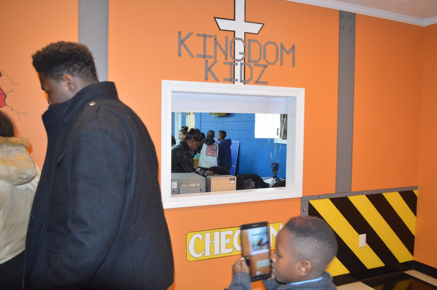KINGDOM KIDS CENTER RIBBON-CUTTING